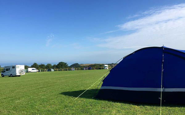 Caravan and Campsite Devon